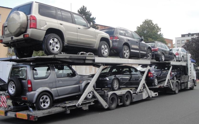 Доставка автовозом