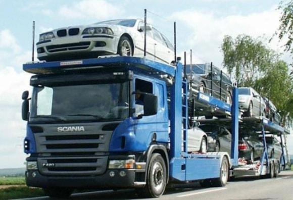Перевозка машин автовозом