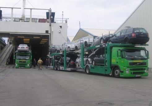 Транспортировка на автовозе